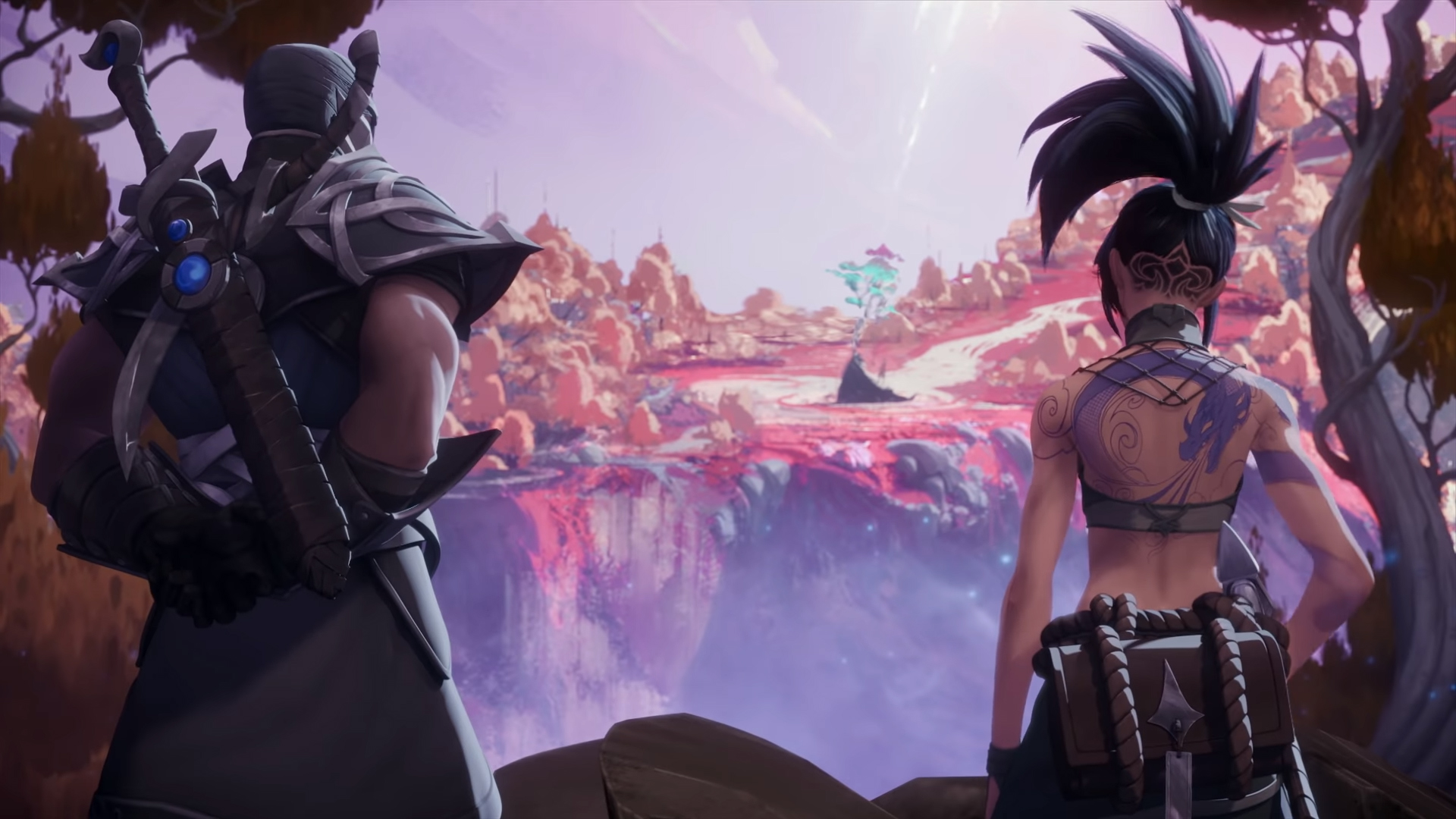 Akali and Shen Feature In A New Cinematic - All Out Rioters