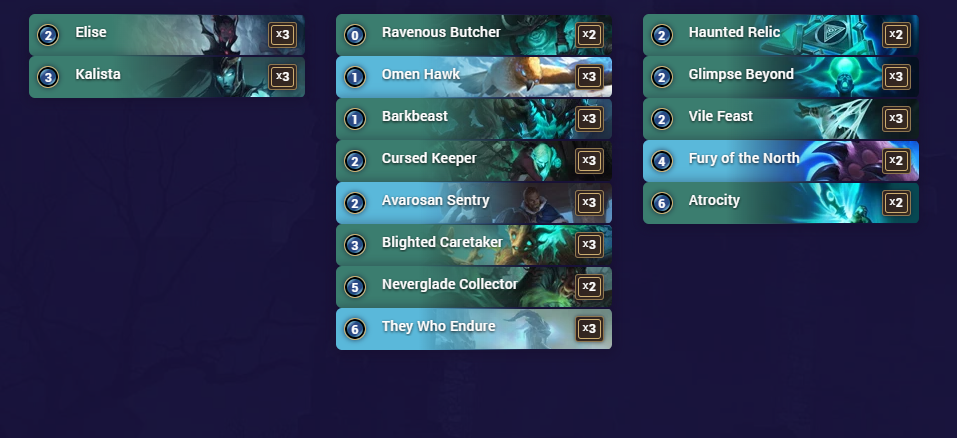 Best Shadow Isle Deck